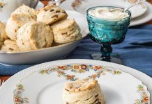 Date, Chive, and Parmesan Scones