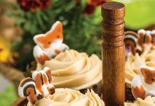 Pumpkin Cupcakes with Molasses Frosting