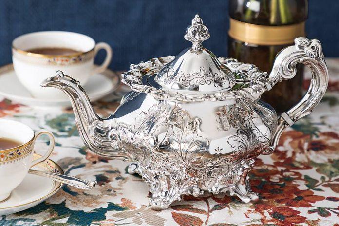 Treasured Teapot: Perennial Adornment